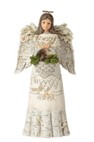 Woodland Angel holding basket