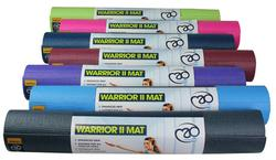 Warrior II Yogamåtte - PHTHALAT FRI - 4 mm tyk