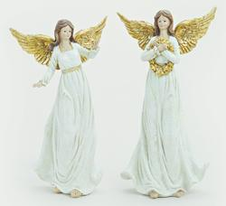 Angel WHITE/GOLD 23 CM