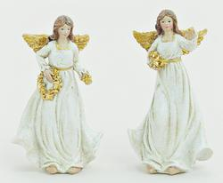 Angel WHITE/GOLD 10 CM