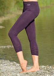 Aubergine leggings 7/8