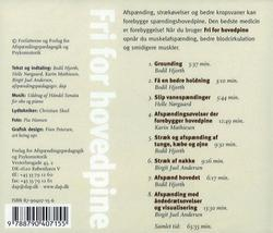 Fri for hovedpine. CD