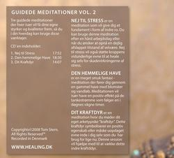 Guidede Meditationer vol 2. CD
