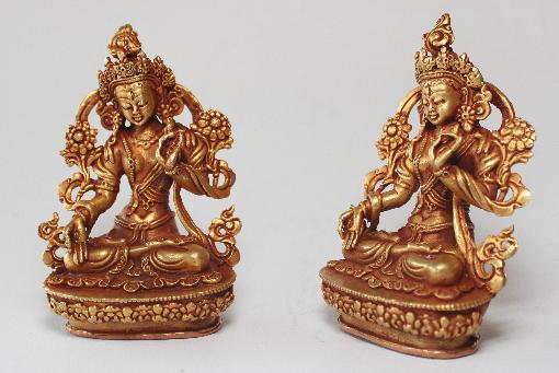 31d85669833 Køb Tara kobberfigur med guld online til en lav pris