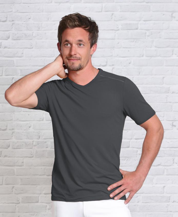 Køb økologisk herre tshirt online til en lav pris